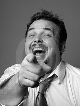 guy lauging