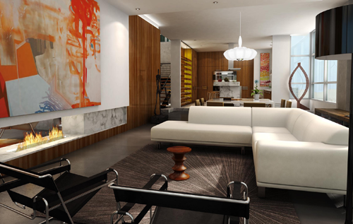 The Mark Penthouse Rendering