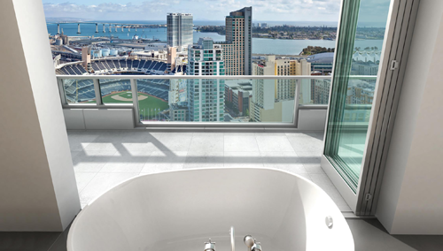 Mark Penthouse Master Bath