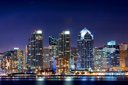 San Diego downtown
