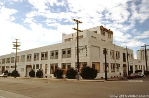 San Diego: Carnation Milk Processing Plant. Re-incarnation to mixed-use lofts & artists complex in 1997 by Wayne Buss.