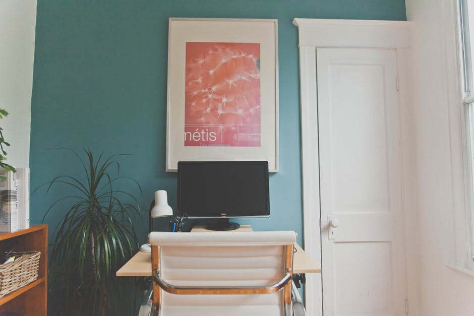 accent wall paint teal