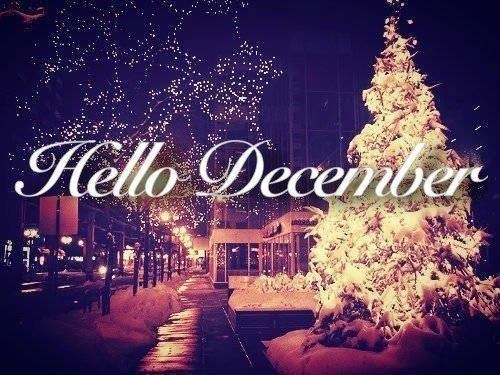 Image result for welcome to december, 2017